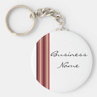 Elegant Business Design Basic Round Button Keychain