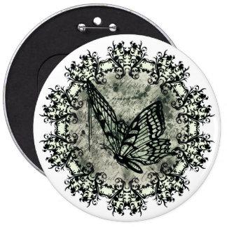 Elegant Butterfly Button