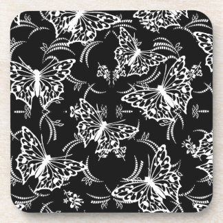 Elegant Butterfly Design  coasters
