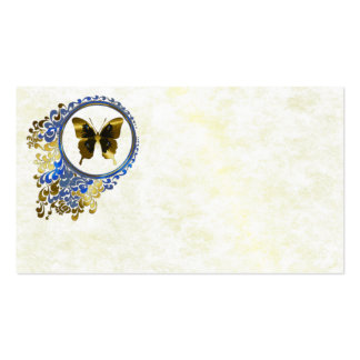 Elegant butterfly Name Place Cards Double-Sided Standard Business Cards (Pack Of 100)
