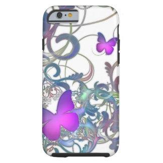 Elegant Butterfly Swirl iPhone 6 Case