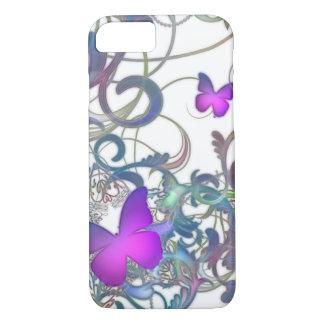 Elegant Butterfly Swirl iPhone 7 Case