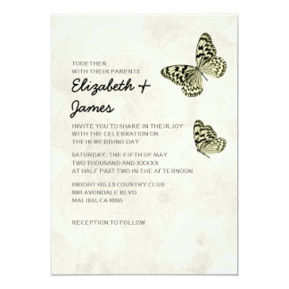 monarch butterfly wedding invitations  announcements  zazzle, Wedding invitations