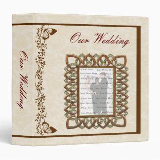 Elegant Butterfly Wedding Photo Album Binders