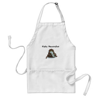 Elegant Cake Decorator Adult Apron