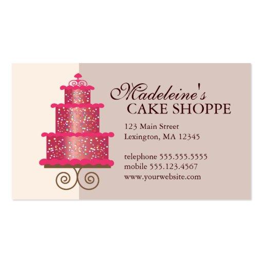 Cake decorating business cards templates 28 images cake cake decorating business cards templates by cake on custom bakery business card zazzle colourmoves
