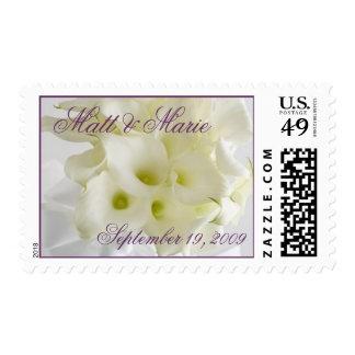 Elegant Calla Lilies stamp