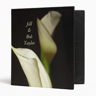 Elegant Calla Lillies Album Binder