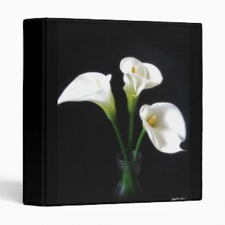 Elegant Calla Lily Flowers 10 Binder