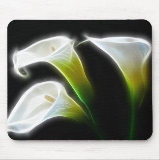 Elegant Calla Lily Flowers 7 Modern mousepad