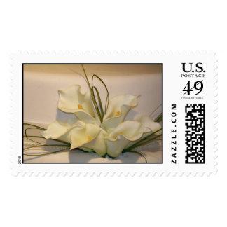 Elegant calla lily Wedding Postage