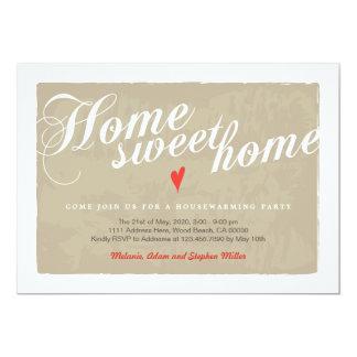 Elegant Calligraphy Modern Housewarming Invitation