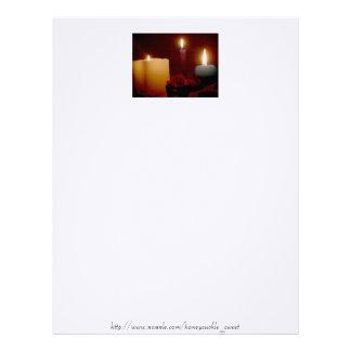 Elegant Candles Letterhead