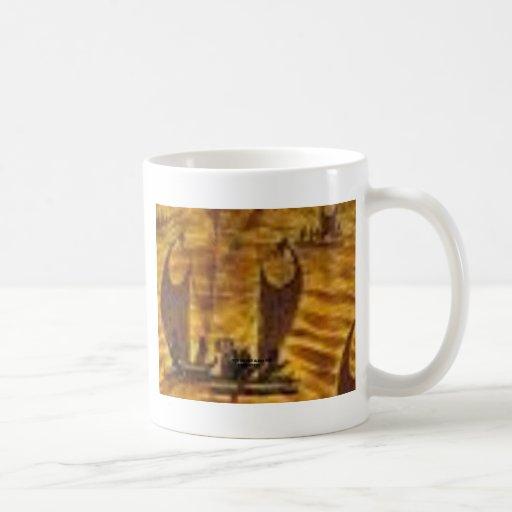 Elegant Canoe Coffee Mug