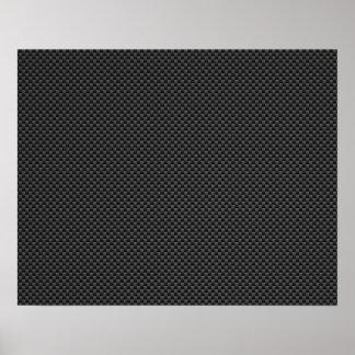 Elegant Carbon Fiber Style Print Background