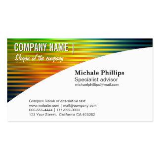 ELEGANT CARD PROFESSIONAL STANDARD METAL BRIGHTNES Double-Sided STANDARD BUSINESS CARDS (Pack OF 100)