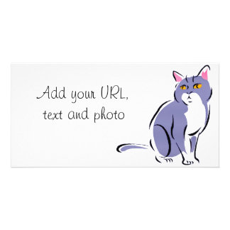 Elegant Cat Card