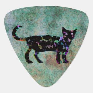 Elegant Cat Custom Monogram Guitar Pick
