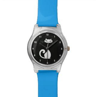 Elegant Cat Design Watch