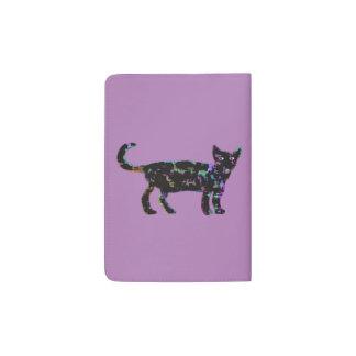 Elegant Cat Passport Holder