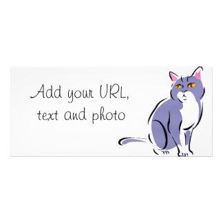 Elegant Cat Rack Card