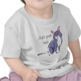 Elegant Cat Tshirt