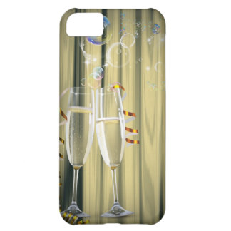 elegant Champagne glasses celebration party iPhone 5C Cover