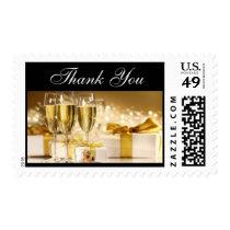 Elegant Champagne Postage