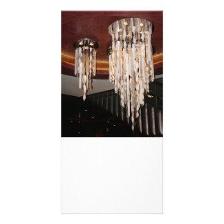 Elegant Chandelier Photo Card