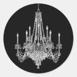 Elegant Chandelier Stickers