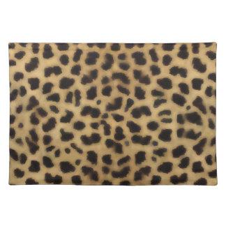 Elegant Cheetah Fur Pattern Place Mat