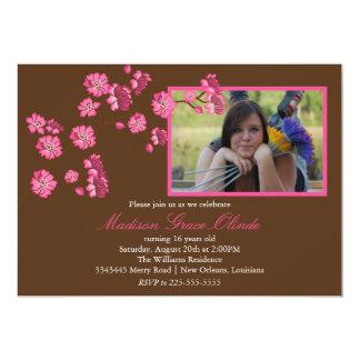 Elegant Cherry Blossom Birthday Card