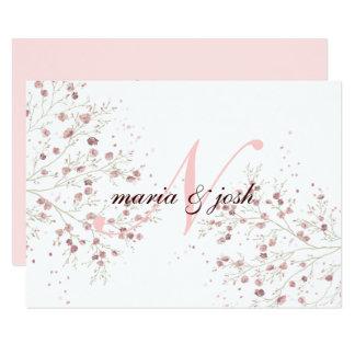 Elegant Cherry Blossom, Wedding Invitation