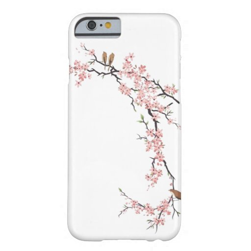 Elegant Cherry Blossom white vintage iPhone 6 case