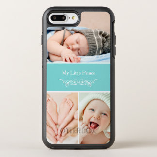 Elegant Chic Baby Kids Photo Collage OtterBox Symmetry iPhone 7 Plus Case
