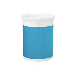 Elegant & Chic Beautiful Blue and Teal Watercolor Pitchers