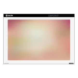Elegant & Chic Beautiful Rose Pink Gold Watercolor Laptop Decals