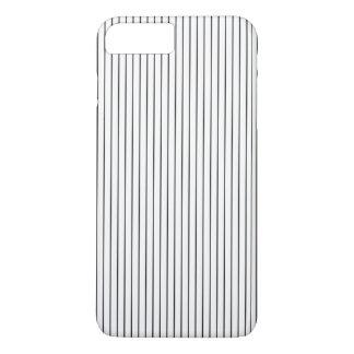 Elegant Chic Black White Striped iPhone 8 Plus/7 Plus Case