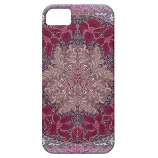 Elegant chic boho stylish floral pattern iPhone SE/5/5s case