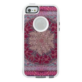 Elegant chic boho stylish floral pattern OtterBox iPhone 5/5s/SE case