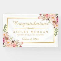 personalized congrats graduation party banners