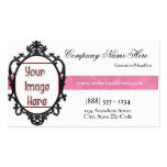 Elegant Chic Frame Add Photo Business Card 2