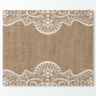 Rustic Wedding Wrapping Paper | Zazzle