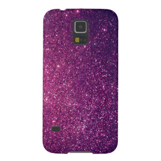 Elegant  chic luxury contemporary glittery galaxy s5 case