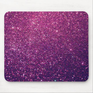 Elegant  chic luxury contemporary glittery mouse pad