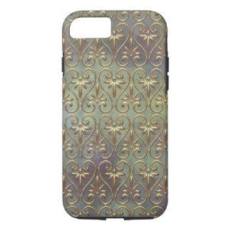 Elegant Chic Ornate Classy Antique Damask Pattern iPhone 7 Case