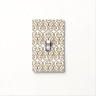 Elegant Chic Ornate Classy Antique Damask Pattern Light Switch Cover