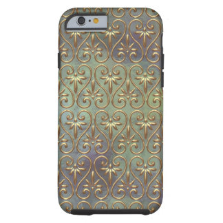 Elegant Chic Ornate Classy Antique Damask Pattern Tough iPhone 6 Case
