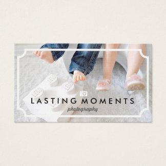 Elegant Children Photography Business Cards