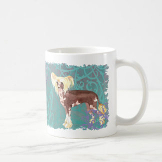 Elegant Chinese Crested Coffee Mug